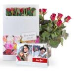 brievenbus bloemen als verjaardagscadeau